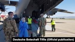 გერმანიის საჰაერო ძალების თვითმფრინავმა Airbus A 400M-მა ავღანეთიდან ქართველი ჯარისკაცი 7 ივნისს ჩამოიყვანა