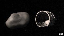 سیارک و سفینه فضایی