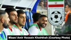 Иран футболчулары.