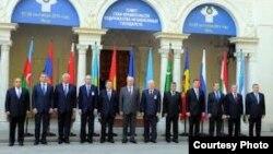 ТМД елдері премьер-министрлерінің кездесуі. Ялта, Украина, 28 қыркүйек 2012 жыл. (Көрнекі сурет).