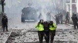La Qutio, revolta și luptele cu poliția continuă