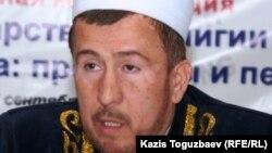 Мухаммад Хусейн Алсабеков, заместитель верховного муфтия Казахстана. Алматы, 27 сентября 2010 года.