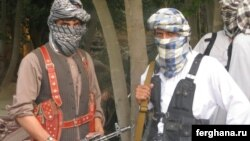 Өзбекстан ислам кыймылынын согушкерлери Ооганстандын Кундуз аймагында. (Сүрөт качан тартылганы белгисиз.)