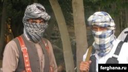 """""""Өзбекстан ислам қозғалысы"""" ұйымының мүшелері. Ауғанстан. (Көрнекі сурет)."""