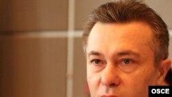 Romanian Foreign Minister Cristian Diaconescu