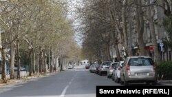 Puste ulice Podgorice, 4. april