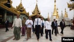 Presidenti Barack Obama në Birmani