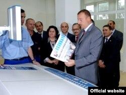 İlham Əliyev nəşriyyat evində, 9 oktyabr 2008