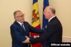Victor Boștinaru, o primire călduroasă la premierul Moldovei