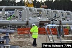 """Строительство наземной инфраструктуры """"Северного потока – 2"""" в Германии"""
