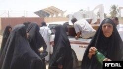 المساعدات الأنسانية للمهاجرين في السماوة من منظمة أكتد الفرنسية