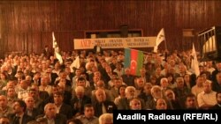 Qurultay Bakıdakı «Təbriz» kinoteatrında keçirildi