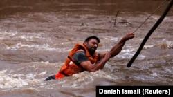 Përmbytje në Indi (Foto nga arkivi)