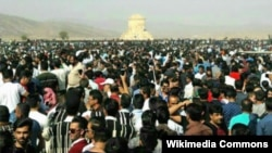 Pasargadae gathering on Cyrus Day, 2016