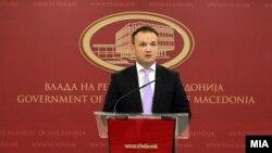 Портпаролот на Владата Александар Ѓорѓиев