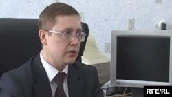 Қарағанды қаласындағы саентология шіркеуінің директоры Вадим Витушкин. Қарағанды, 19 ақпан, 2009 жыл
