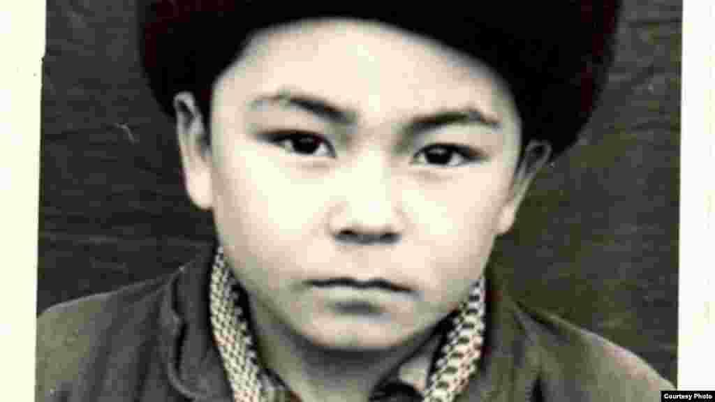 Акмухаммет Байханов в детстве