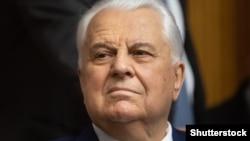 Голова української делегації в Тристоронній контактній групі з врегулювання ситуації на Донбасі Леонід Кравчук.