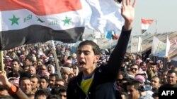 Протести на сунитите во Ирак.