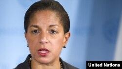 Представитель США при ООН Сьюзан Райс