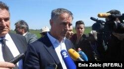 Milorad Pupovac u Jasenovcu, 15. travnja 2016, foto: Enis Zebić