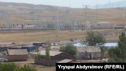 """Датка"" подстанциясы, Жалал-Абад облусу, 3-июль, 2013."