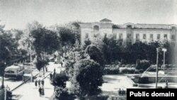 Душанбе - столица советского Таджикистана. Архивное фото