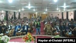 شيوخ عشائر وقادة أمنيون في مؤتمر ببابل