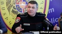 Начальник Полиции Армении Владимир Гаспарян (архив)