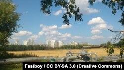 Опытно-экспериментальное поле Тимирязевской академии в Москве