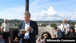 """James Joyce Qülləsində """"Ulysses"""" oxuyurlar, Dublin"""