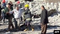 На місці нападу в Кіркуку, 3 лютого 2013 року
