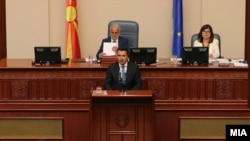 Премиерот Зоран Заев во Собрание