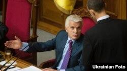 Председатель Верховной Рады Украины Владимир Литвин.