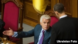 Під час засідання Верховної Ради України, 7 жовтня 2010 р.