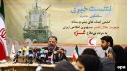 عبدالرئوف ادیبزاده، رئیس سازمان هلال احمر ایران