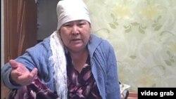 Нурсулу Дуйсебаева, вдова жителя Жанаозена Бекежана Дуйсебаева.