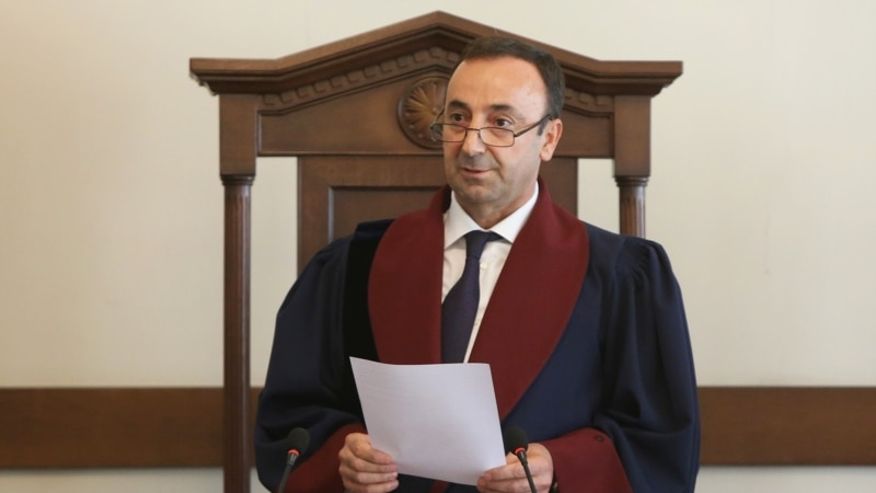Appointment Of Armenian Constitutional Court Head Declared Illegal