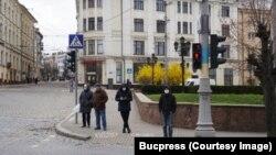 Pe stradă în Cernăuți