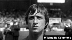 Johan Cruyff derisa ishte futbollist aktiv