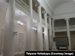 Актовый зал филологического факультета Ленинградского университета