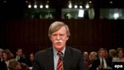 جان بولتون برای مدتی محدود سفیر موقت آمریکا در سازمان ملل متحد بود.