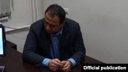 Ара Варданян в СНБ, 3 июля 2018 г.