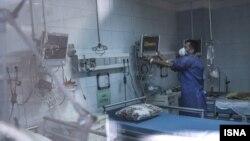 Quarantine center for suspected coronavirus cases in Tehran, February 5, 2020
