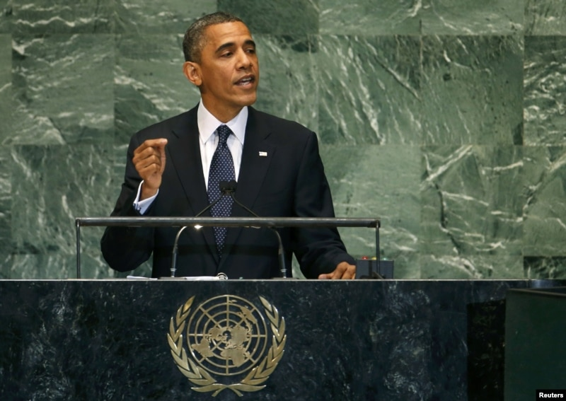 President Obama Address the U.N. General Assembly