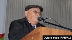 Профессор Шаруа Пірмат. Шымкент, 20 қазан 2016 жыл.