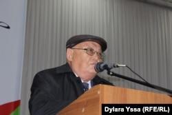 Профессор Шаруа Пирмат. Шымкент, 20 октября 2016 года.
