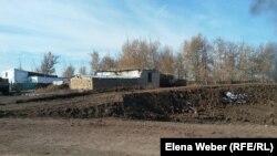 Қарағанды облысы Садовое ауылында да топырақтан бөгет үю жұмыстары басталған.