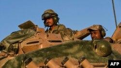 Türkiyə tankları Suriya ərazisinə başqa məntəqədən müdaxilə edib