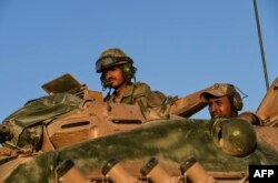 Учения турецкой армии вблизи границы с Сирией. Июнь 2017 года